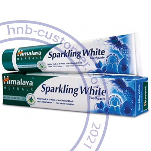 Sparkling White Toothpaste photo